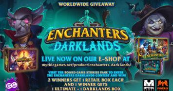 Enchanters Darklands Giveaway!