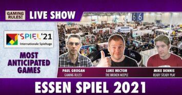 Essen 2021 – Most Anticipated Games Live Show