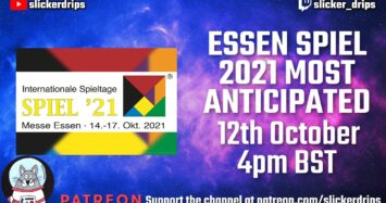 Most Anticipated Games of Essen Spiel 2021