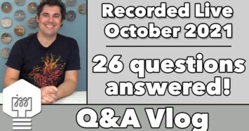 Q&A Vlog October '21 – 25 questions answered!