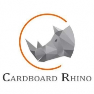 Cardboard Rhino